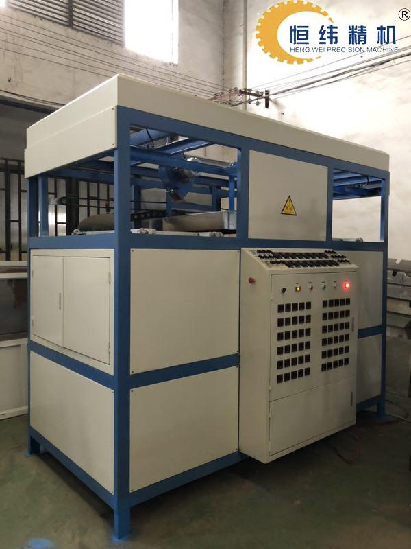 HW-6191半自动双工位塑料成型打板机